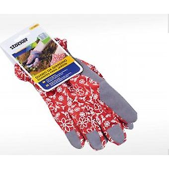 Stocker garden Garden Gloves 9 / M - Red (Garden , Gardening , Tools , Accessories)