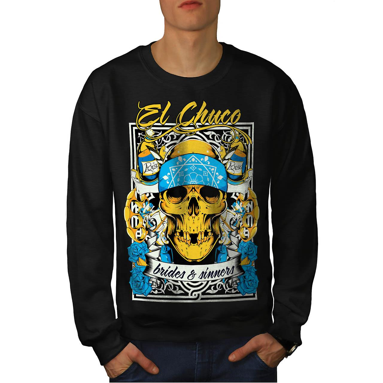 Brides Sinner Gang Warrior Fight Men Black Sweatshirt | Wellcoda
