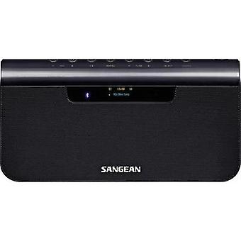DAB+ Portable radio Sangean AUX, Bluetooth, DAB+, NFC, FM Battery charger, rechargeable Blue (metallic)