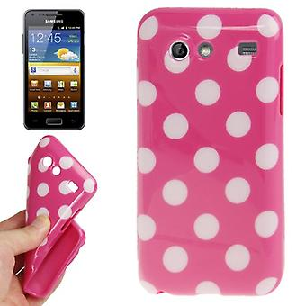 Protective case for mobile Samsung Galaxy S advance i9070 pink