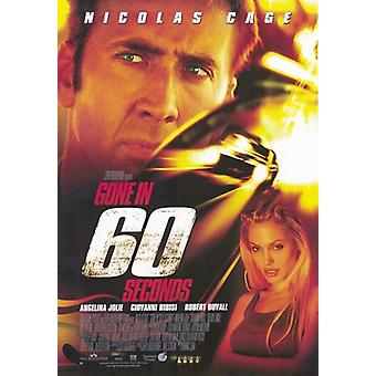 Gone in 60 Seconds Movie Poster (11 x 17)