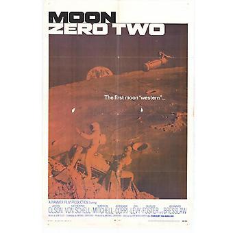 Moon Zero Two Movie Poster Print (27 x 40)