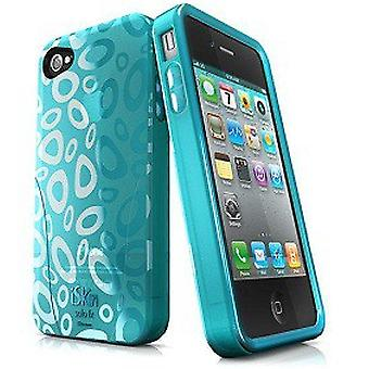 iSkin Solo FX SE Protective Case for iPhone 4 / 4S - Green