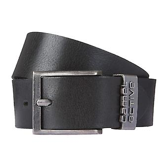 Camel active belt leather belts men's belts leather black 1674