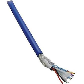 USB cable 10 x 0.08 mm² Blue BKL Electronic 1512007 Sold per metre