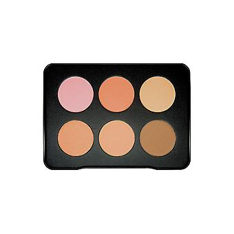 W7 Grande Blush color 6 colorete y Bronzer paleta