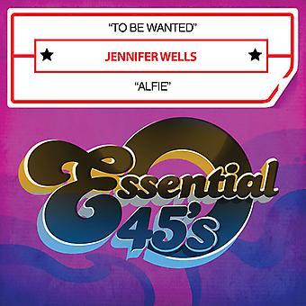 Jennifer Wells - sein wollte / Alfie USA import