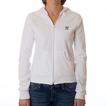 Detronisere kvinders klar Fleece hættetrøje - hvid