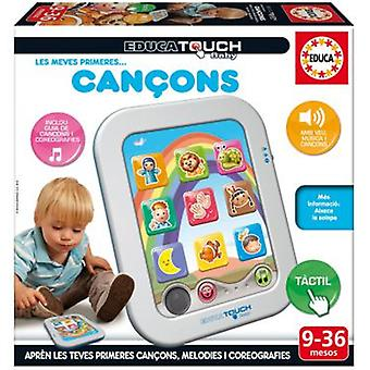 Educa Baby Touch Les Meves Primeres (Toys , Educative And Creative , Electronics)