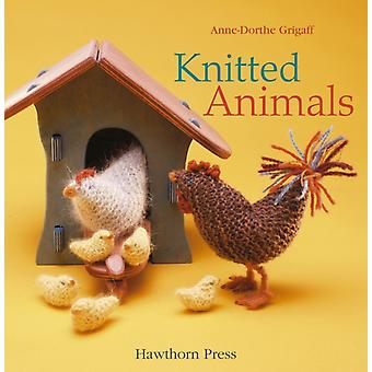 Knitted Animals (Crafts and Family Activities) (Hardcover) by Grigaff Anne-Dorthe