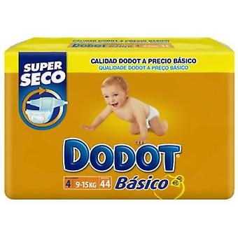 Dodot Nappy Basic T-4 (9-15 Kg) 44 Units (Jeugd , Nappies and Changers , Nappies)