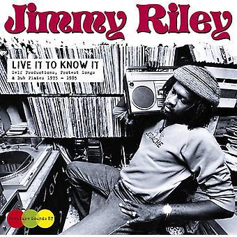 Jimmy Riley - Live det at vide det [Vinyl] USA import