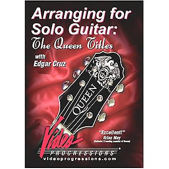 Edgar Cruz - Arranging for Solo Guitar/the Queen Titles [DVD] USA import
