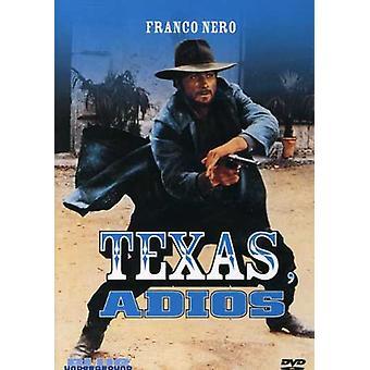Texas Adios [DVD] USA importerer