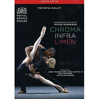 Drie balletten door Wayne McGregor [DVD] USA importeren