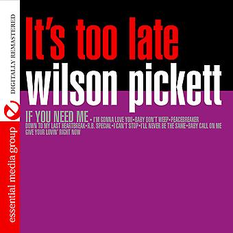 Wilson Pickett - It's Too Late [CD] USA import