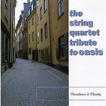 Tribute to Oasis - Decadence & Vanity: The String Quartet Tribute to Oasis [CD] USA import
