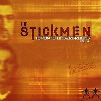 Figuras de palos - sticks: Importación de los E.e.u.u. metro [CD] Vol. 4-Toronto