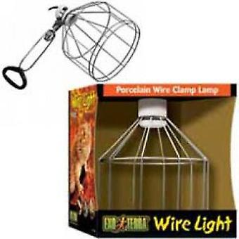 Exo Terra EXO TERRA PORCELAIN WIRE CLAMP LAMP PT2048 (Reptiles , Lighting , Lamps)