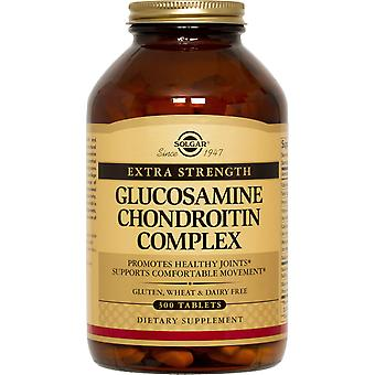 Solgar Extra Strength Glucosamine Chondroitin Complex Tablets 300ct