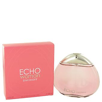 Davidoff Women Echo Eau De Parfum Spray By Davidoff