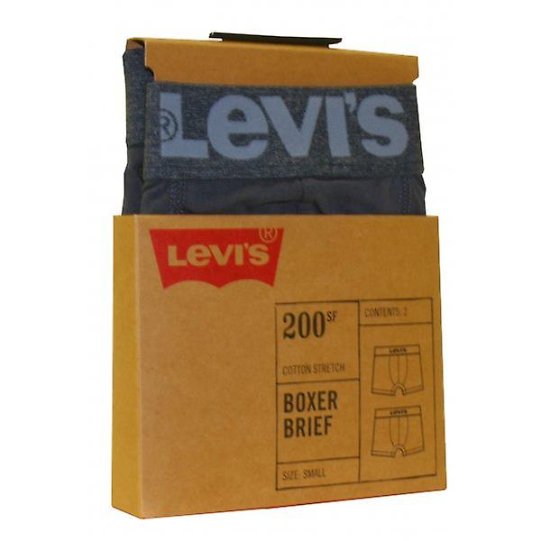 Levi's 2-Pack 200sf Boxer Briefs, Light Denim Blue