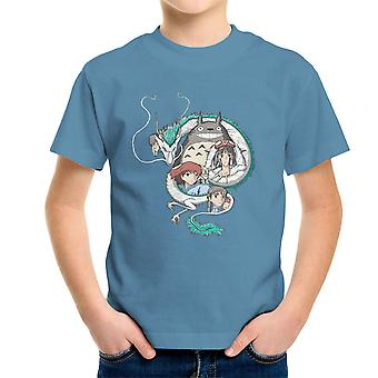 Studio Ghibli Montage Kid's T-Shirt