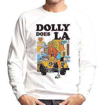 Dolly hat LA Roller Skater Girl Herren Sweatshirt