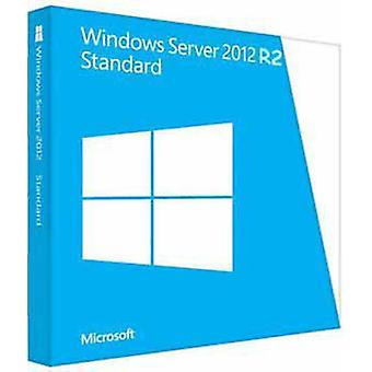 Microsoft Operating System Windows Server Standard 2012 R2 X64