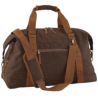 Bagbase Vintage Canvas Weekender / Holdall Carry Bag (30 Litres)