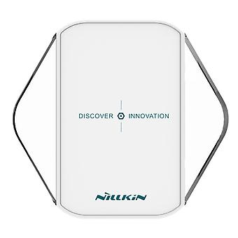 Universal inductive charger for Wireless charging of Qi NFC wireless charger dock white