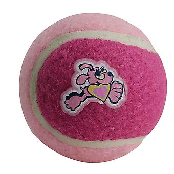 Kruuse Rogz Pupz Tennis Ball Dog Toy