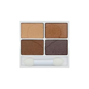 W7 Very Vegan Eyeshadow Quad Autumn Ambers 0.21oz / 6g