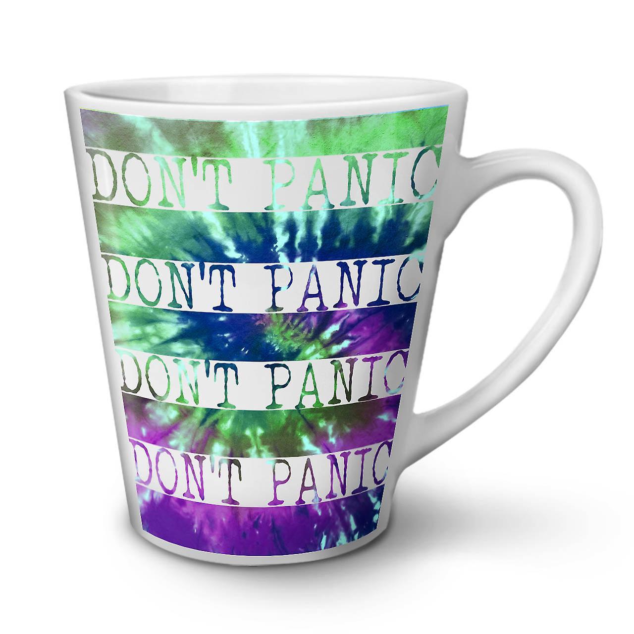 Paniquez Blanche Ne En OzWellcoda Nouvelle Pas Café 12 Tasse Latte Céramique kPZOTXiu