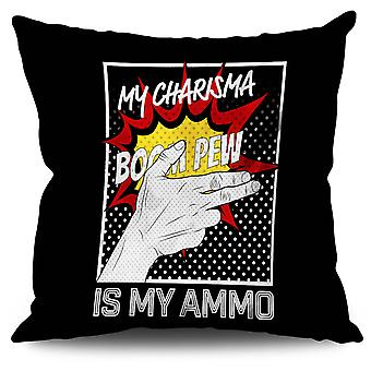 Charisma Comics Fashion Linen Cushion Charisma Comics Fashion | Wellcoda
