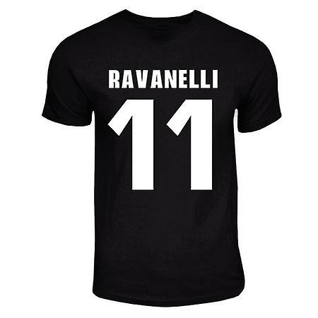 Fabrizio Ravanelli Juventus helten T-shirt (svart)