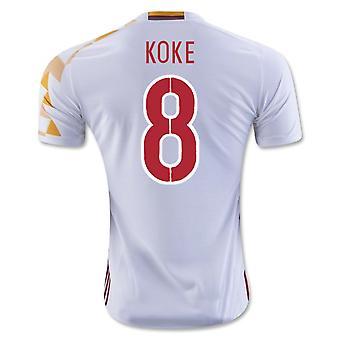2016-2017 Spain Adidas Away Shirt (Koke 8)