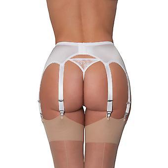 بيضاء اللون الصلبة النايلون NDL9 أحلام المرأة الرباط الحزام 8 الرباط رباط حزام سوسبيندير
