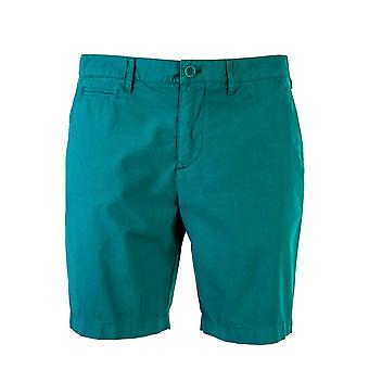Burberry men's 4011801 green cotton of shorts