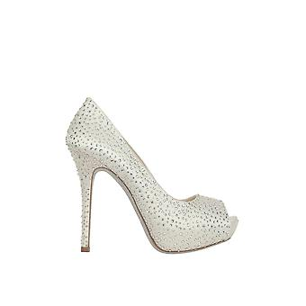 Loriblu women's 3EP12377PFS8013C silver satin pumps