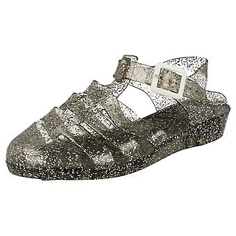 Ladies Spot On Casual Jelly Sandals