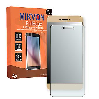 Allview X3 Soul screen protector - Mikvon FullEdge (screen protector with full protection and custom fit for the curved display)