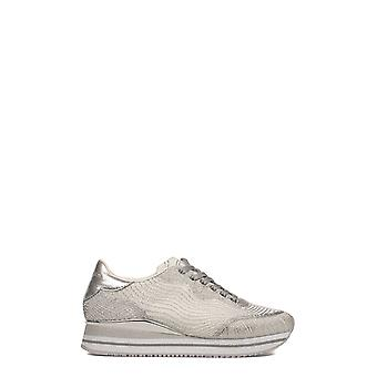 Crime London women's 25440KS110 silver/white leather of sneakers