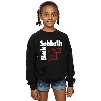 Black Sabbath Girls Creature Logo Sweatshirt