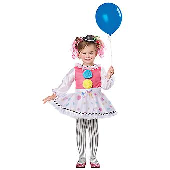 Bubbles The Clown Circus Birthday Party Book Week Infant Toddler Girls Costume