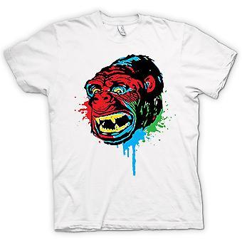 Womens T-shirt - Pop Art - Ape Gorilla - Cool Design