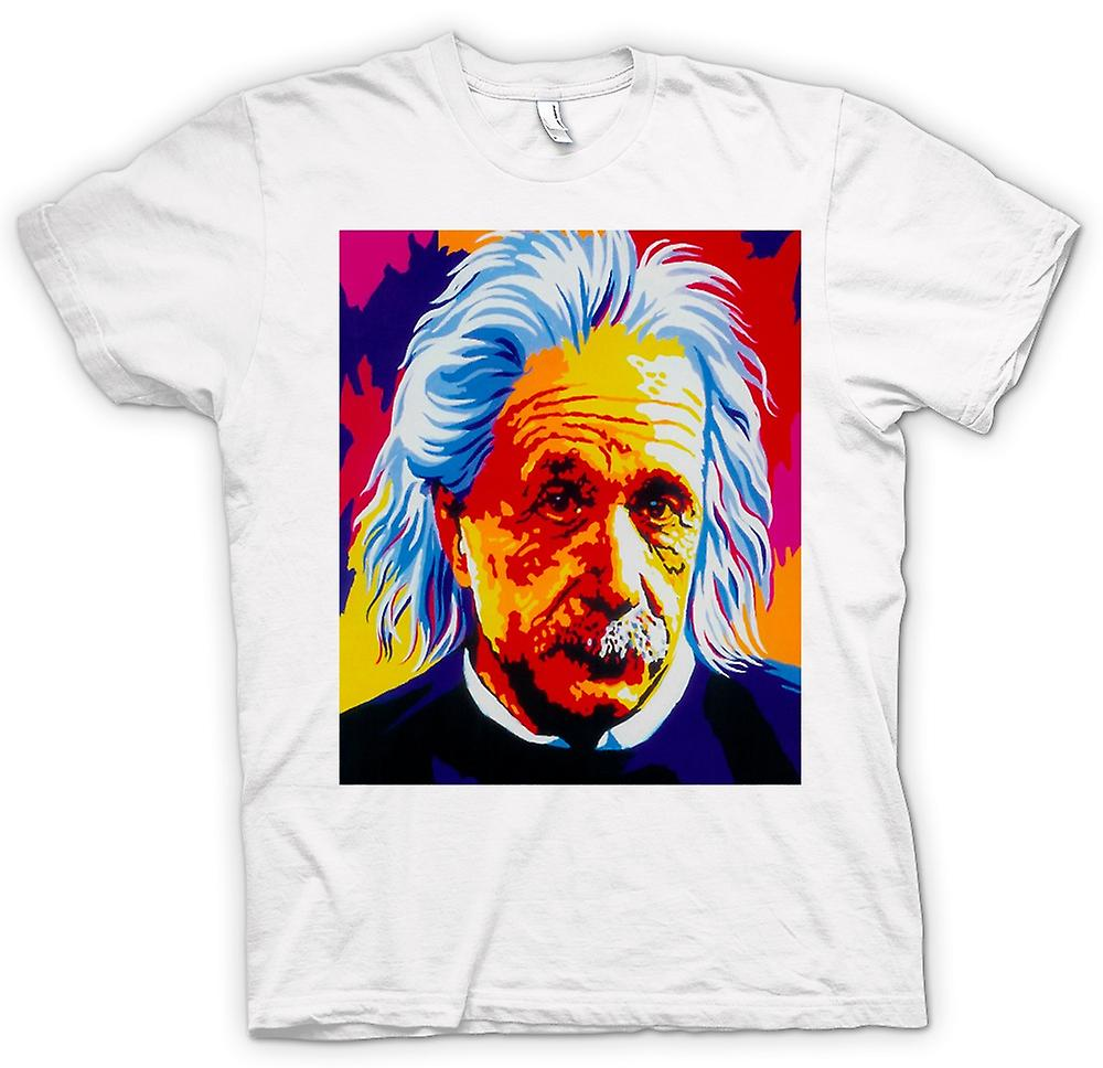 Mens T-shirt - Albert Einstein - Pop Art