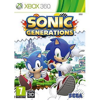Sonic-Generationen (Xbox 360)