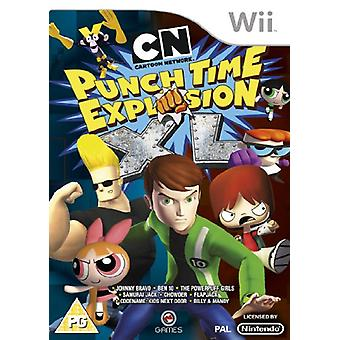 Cartoon Network Punchtime Explosion XL (Wii)