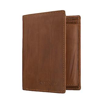 Bruno banani mens wallet wallet purse Brown 6368